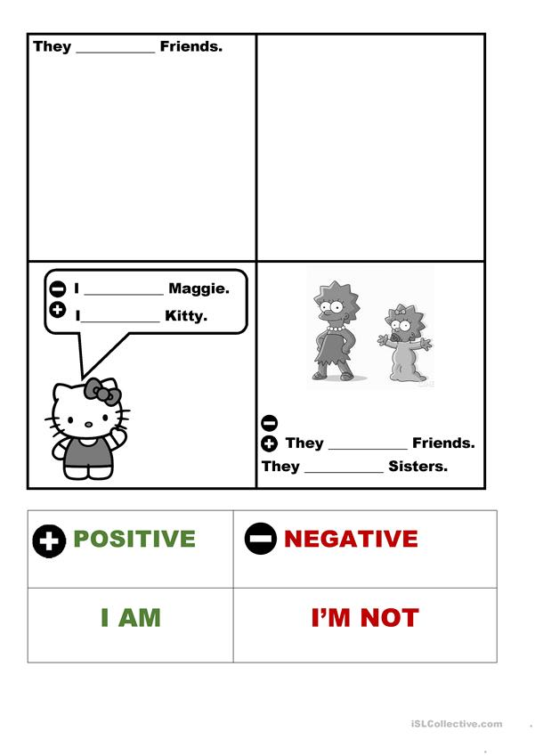 To be affirmative and negative for children