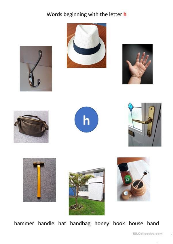 Words beginning with the letter h
