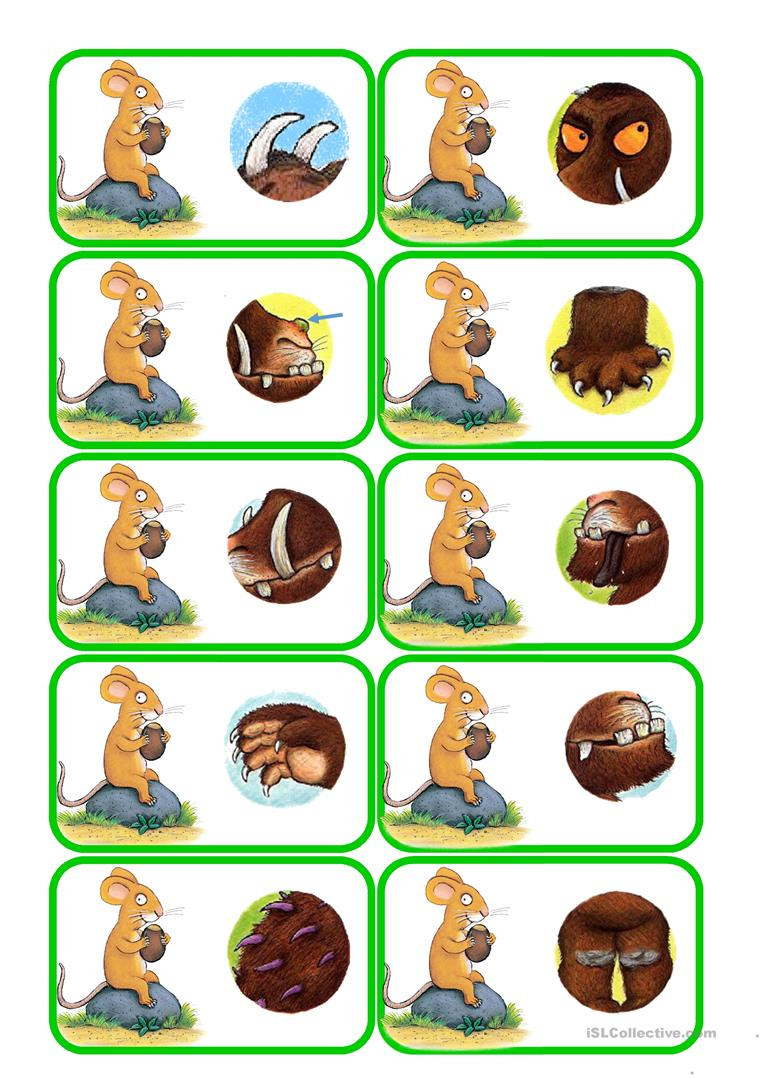 Finding The Gruffalo Part 2 Worksheet Free Esl