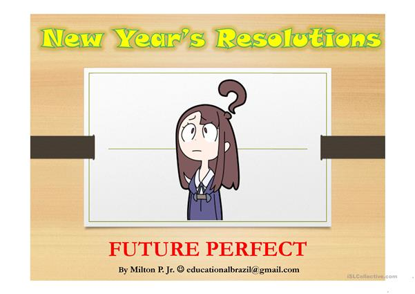 Future Perfect - Making predictions - PPT