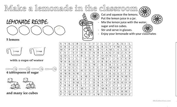 HOW TO MAKE A LEMONADE