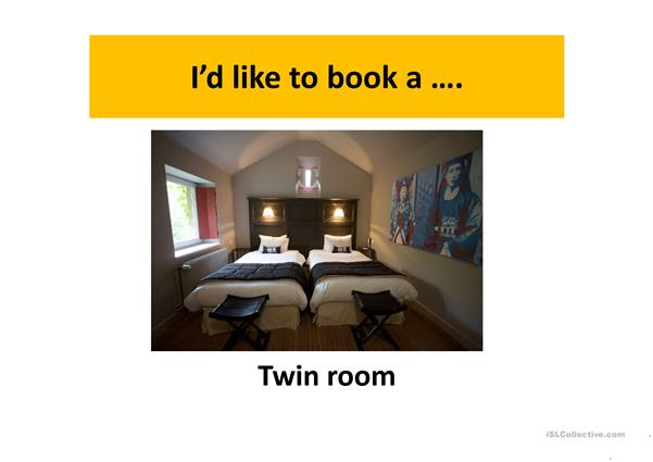 booking a room (full version)