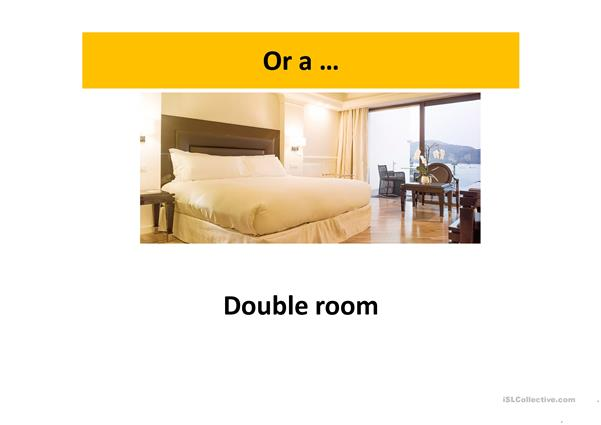 booking a room