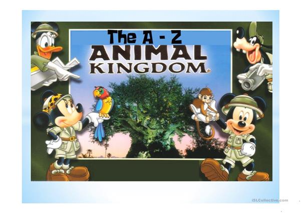 THE A-Z ANIMAL KINGDOM