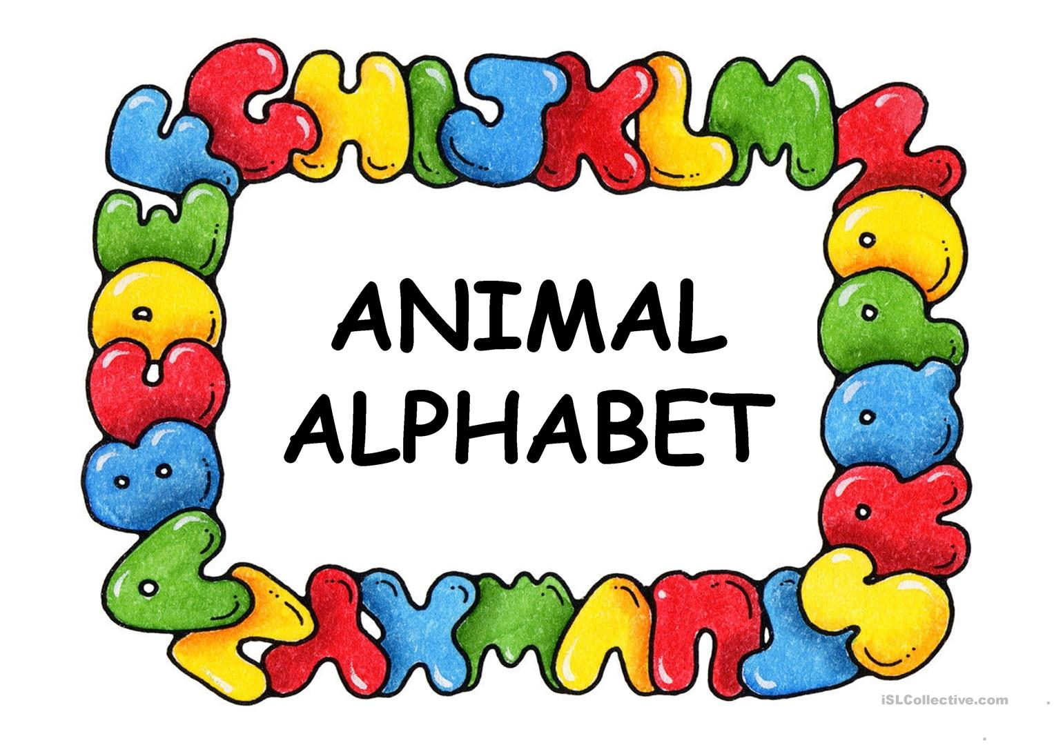 ANIMAL ALPHABET   English ESL Powerpoints for distance learning ...