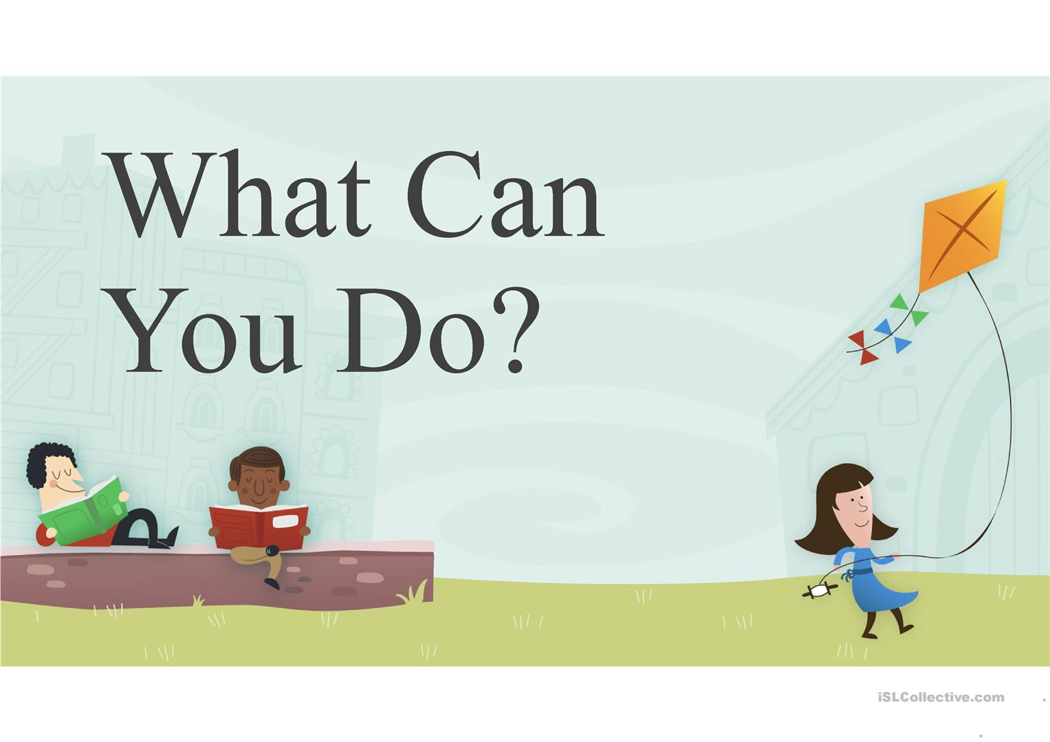 Can-Can't - English ESL Powerpoints for distance learning and ...