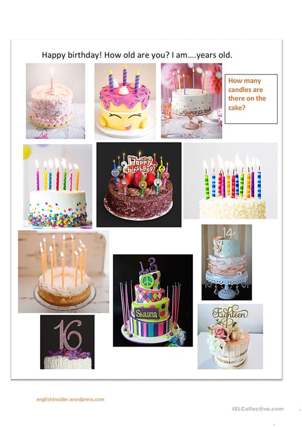 How old are you_counting candles activity