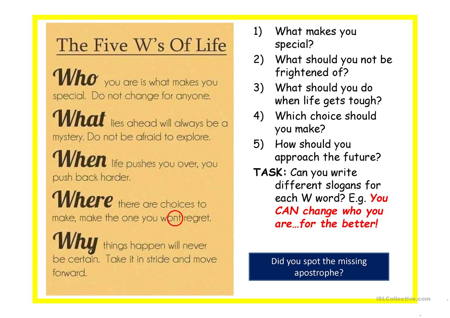 Inspirational Quotes 2019 Worksheet Free Esl Projectable