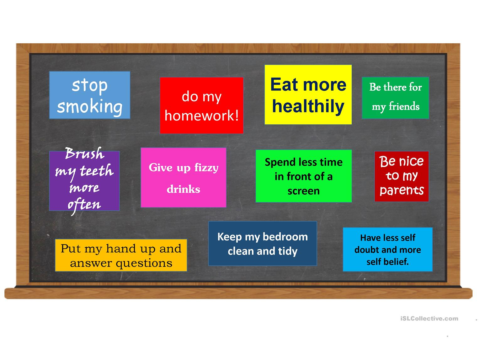 New Years Eve Resolutions