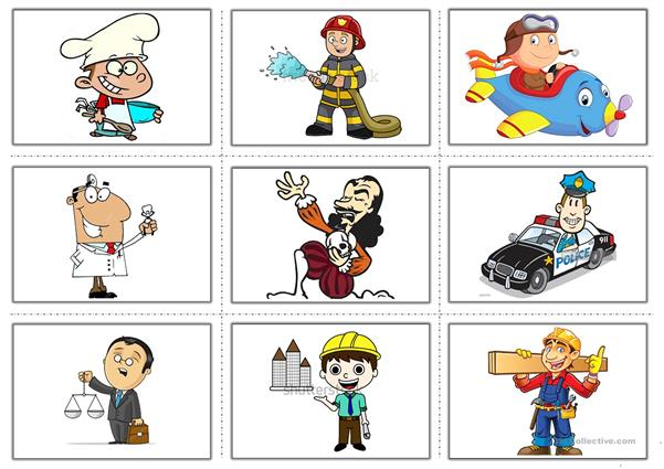 Occupations-Flashcards - English ESL Worksheets for distance learning and physical classrooms