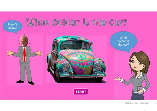 What colour is the car?