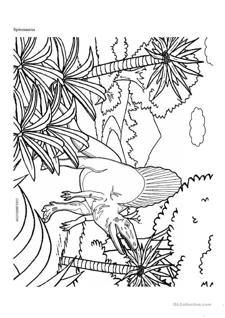 Dinosaur Coloring Page 12 Coloring Page - Free Other Dinosaur ... | 1079x763