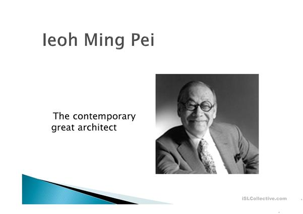 Biography of Architect Ieoh Ming Pei