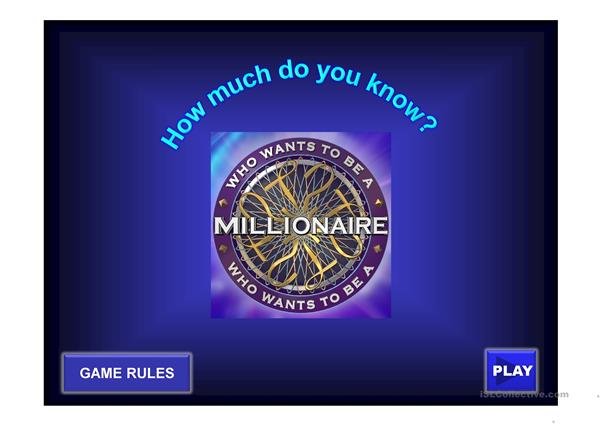 Who Wants To Be A Millionaire (Superlative)