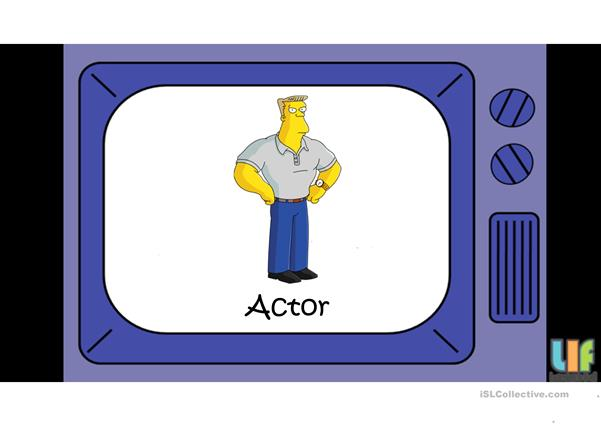 Jobs and professions - The Simpsons game