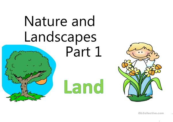 Nature and Landscapes Lesson