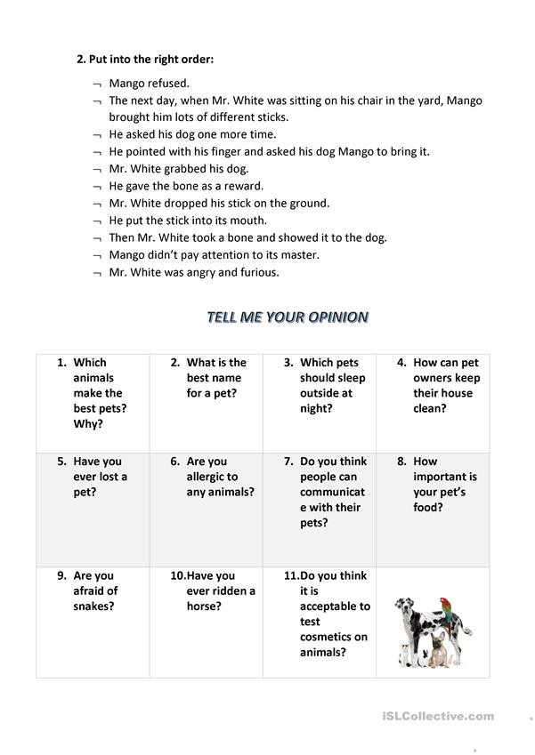 STORYBOARD 2 Practice English With The Pictures - English ESL Worksheets  For Distance Learning And Physical Classrooms