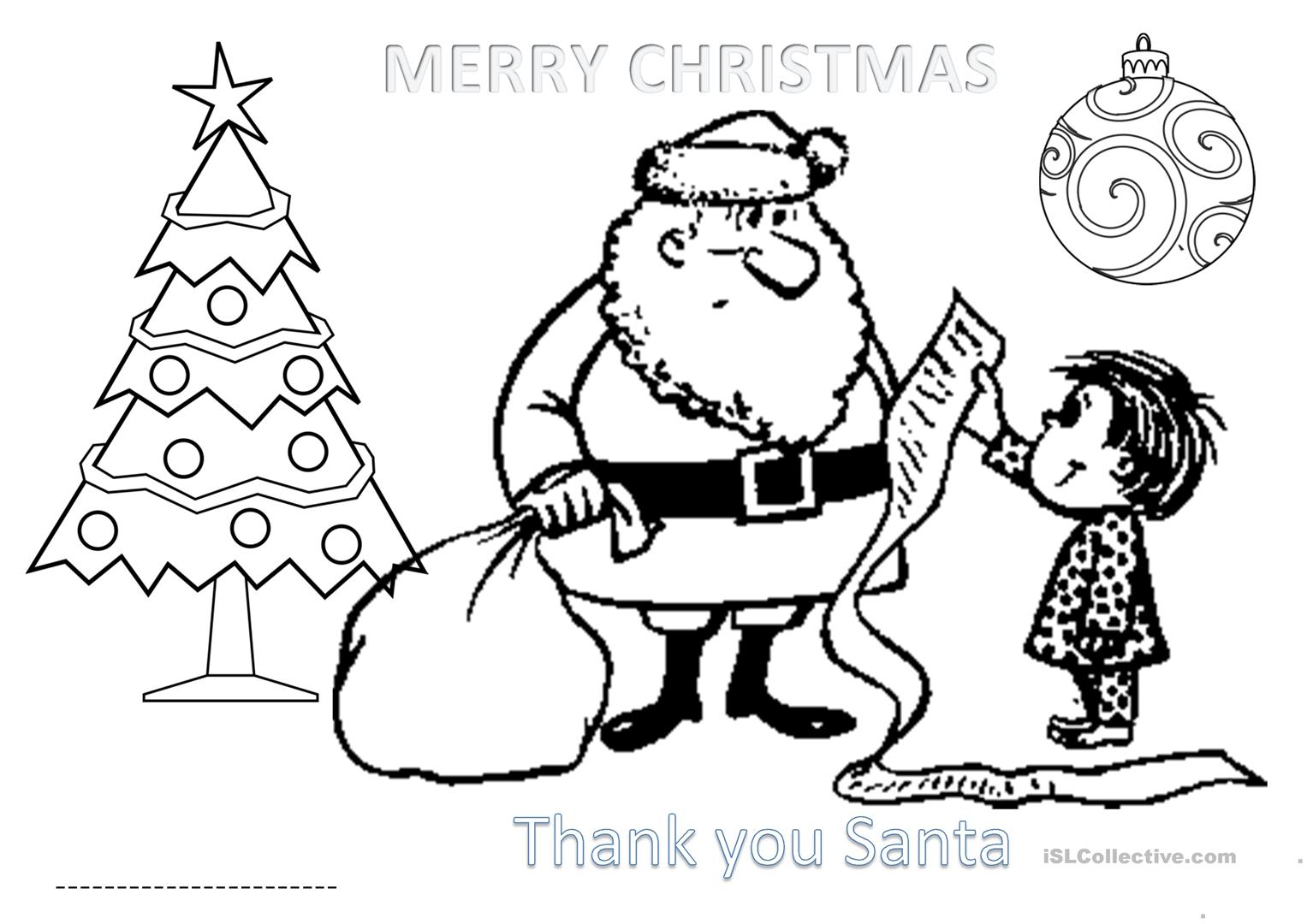 - Activity Sheet Christmas For Primary 1 - English ESL Worksheets