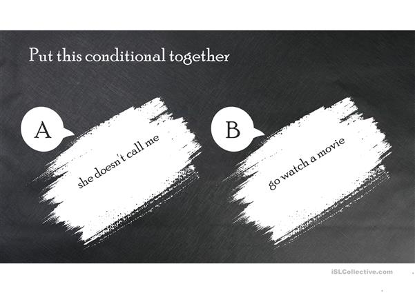 First, Second and Third Conditionals