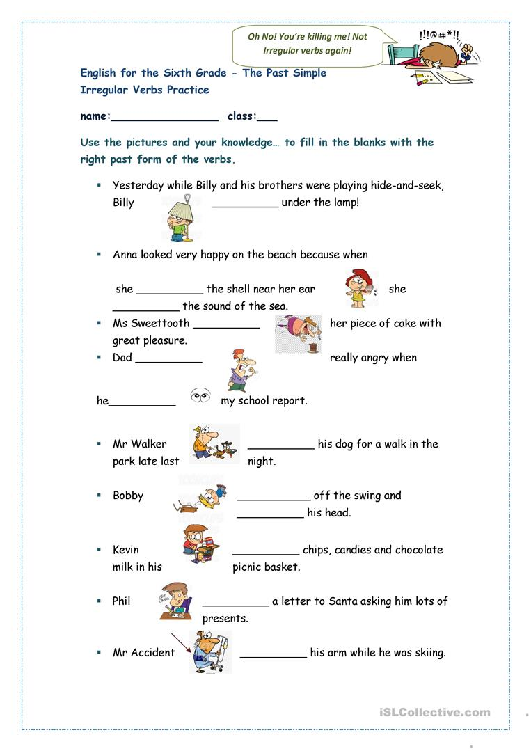 The Past Simple Irregular Verbs Practice English Esl Worksheets For Distance Learning And Physical Classrooms