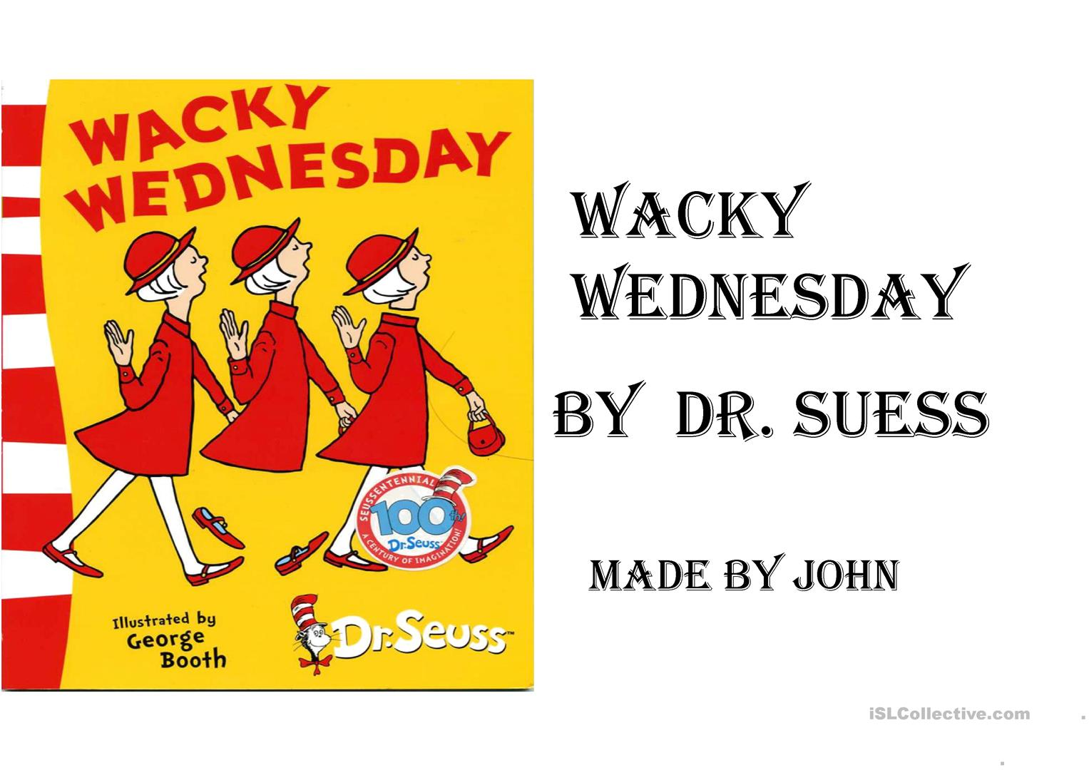 Wacky Wednesday English Esl Powerpoints For Distance Learning And Physical Classrooms