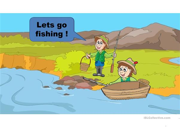 parts of the house fishing game