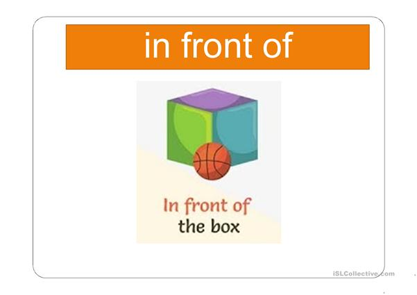 Prepositions of Place and Movement (in/on/at)