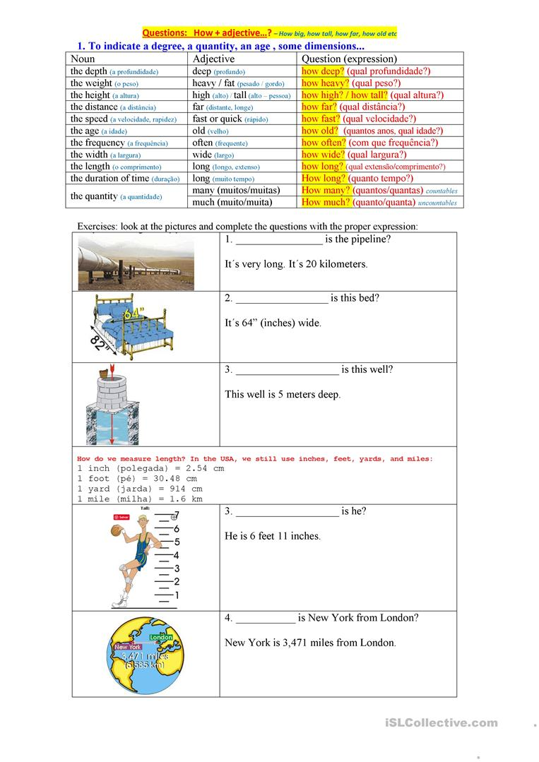 How Adjectives English Esl Worksheets For Distance Learning And Physical Classrooms