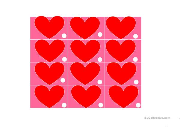 Valentine´s Day Counting