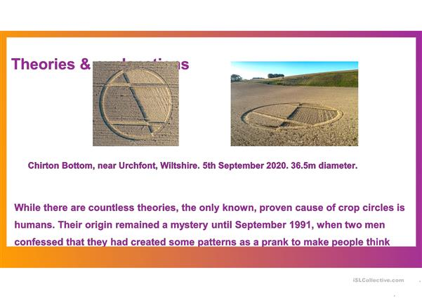 The Crop Circle Mystery/ A Closer Look